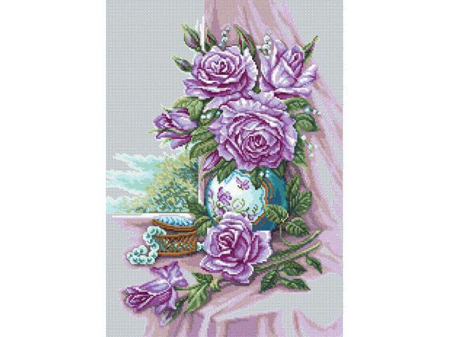 Rose Bouquet Counted Cross Stitch Kit-11-3/4