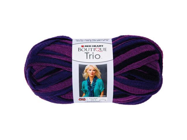 Red Heart Boutique Trio Yarn-Regal