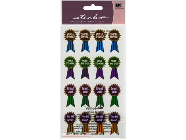 Sticko Classic Stickers-Award Ribbons