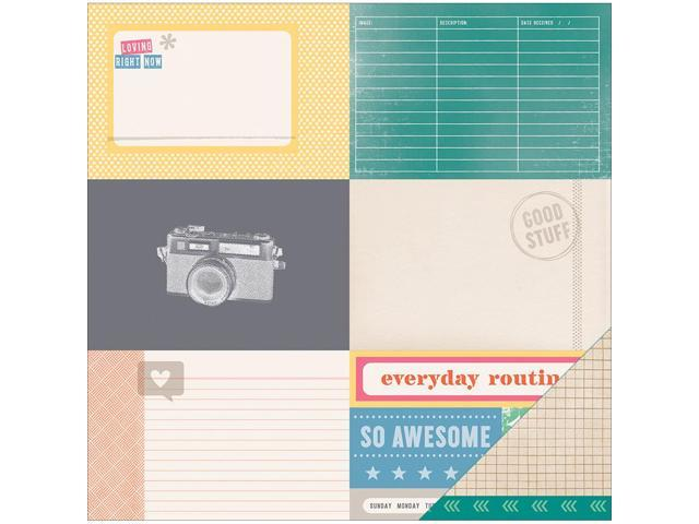 Cut & Paste Double-Sided Cardstock 12