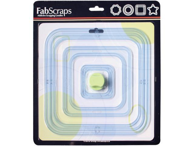 Mat & Frame Cutter With 6 Sizes Of Templates-Square