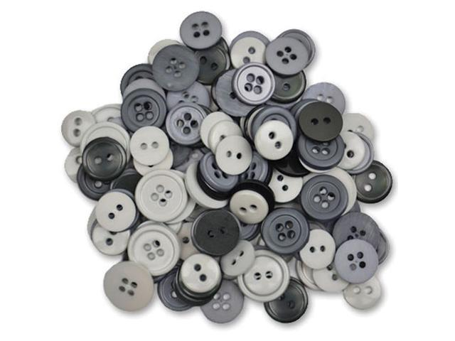 Favorite Findings Buttons 130/Pkg-Cloudy