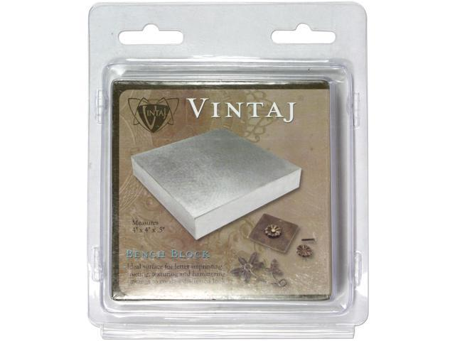 Vintaj Special Edition - Solid Metal Bench Block Wire Hardening / Wrapping Tool
