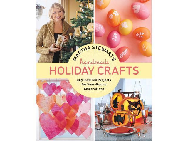 Potter Craft Books-Martha Stewart Handmade Holiday Crafts
