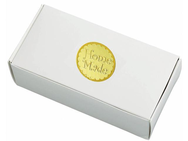 Home Made Box Seals 24/Pkg-Gold 1