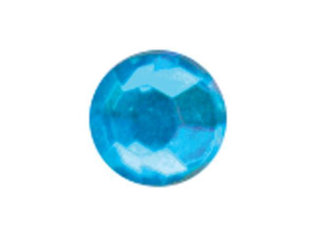 Crystal Stickers Elements 3mm To 6mm Assorted 76/Pkg-Round - Turquoise