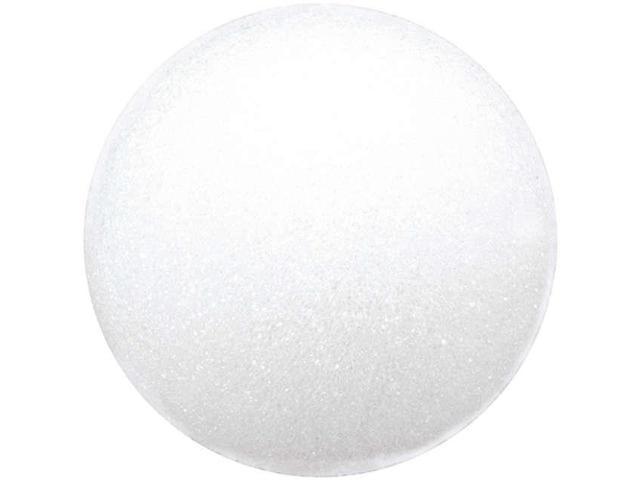 "Styrofoam Balls 3"" 6/Pkg-White"