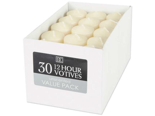 Unscented 12 Hour Votive Candles 1.3