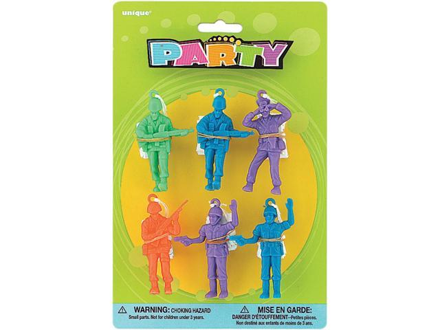 Party Favor Assorted 6/Pkg-Parachute Men