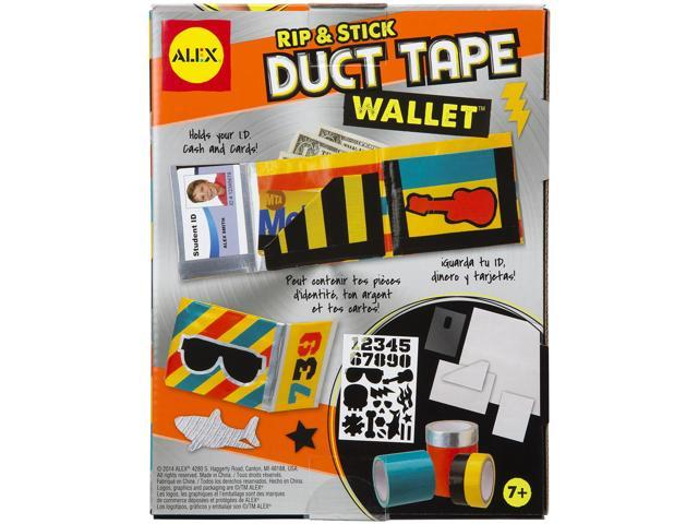 Rip & Stick Duct Tape Wallet Kit-