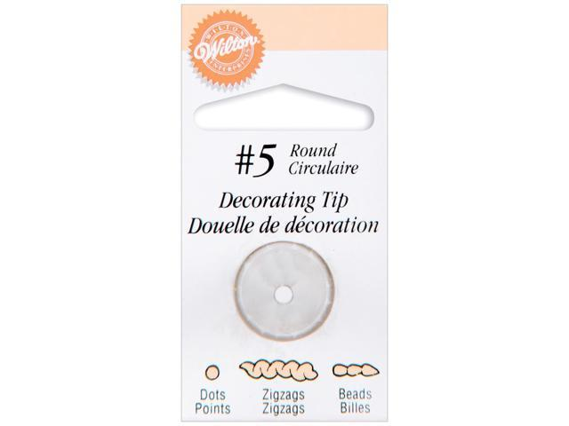 Decorating Tip-#5 Round