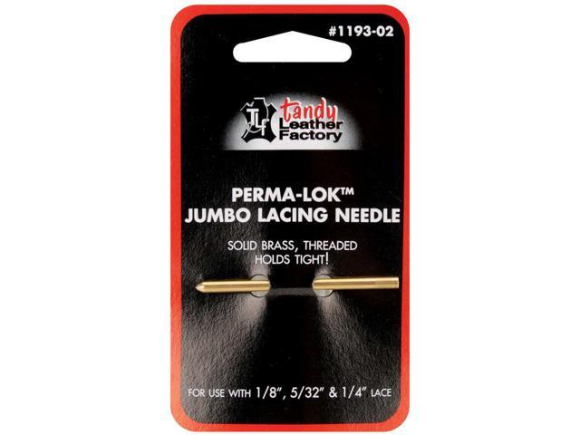 Perma Lok Jumbo Lacing Needle-For .125
