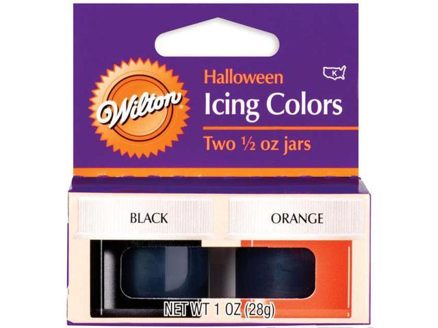 Icing Colors 1/2 Ounce 2/Pkg-Halloween