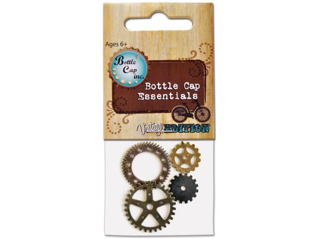 Vintage Collection Bottle Cap Gears 4/Pkg-