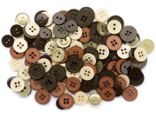 Favorite Findings Buttons 130/Pkg-Nature
