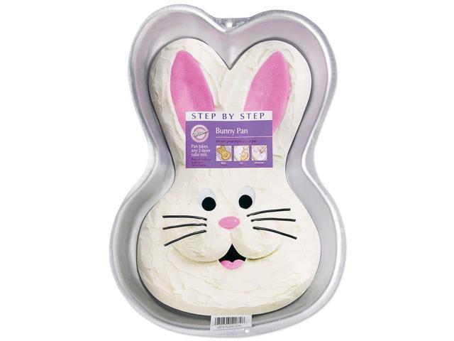 "Step-By-Step Cake Pan-Bunny 9-3/4""x14""x2"""