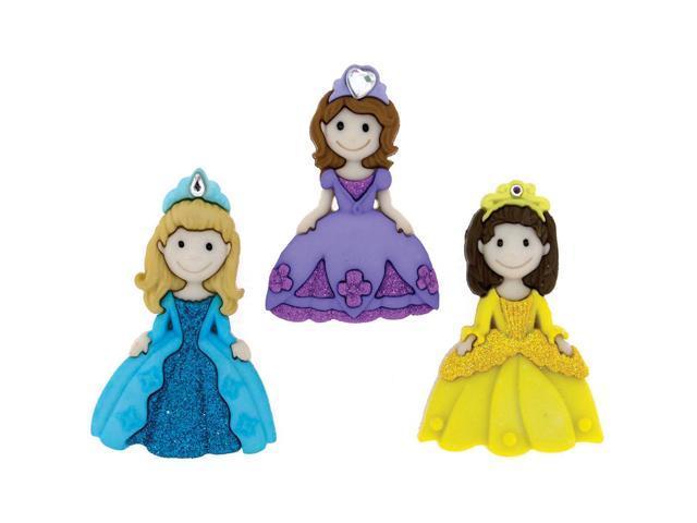 Dress It Up Embellishments-Princesses