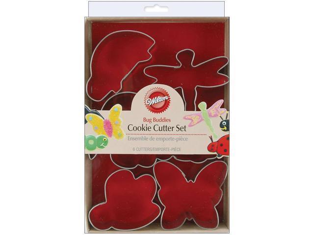 Metal Cookie Cutters 6/Pkg-Bug Buddies