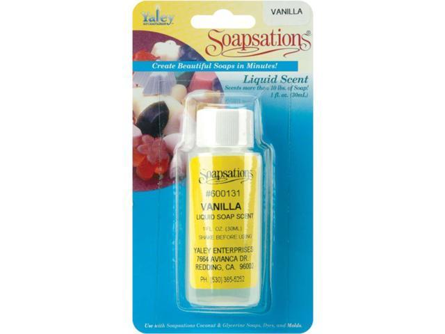 Soapsations Liquid Scent 1 Ounce Bottle-Vanilla