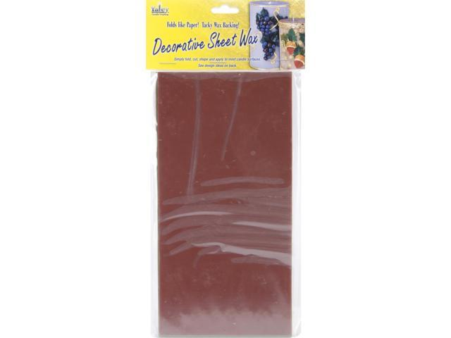 Decorative Wax Sheets 8/Pkg-Fall