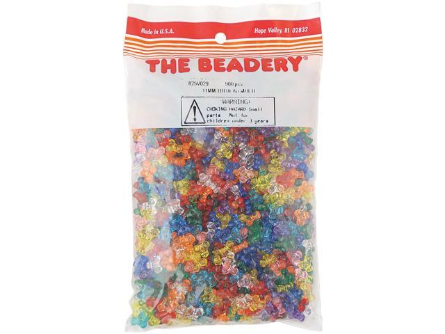 Tri Beads 11mm 900/Pkg-Multicolor