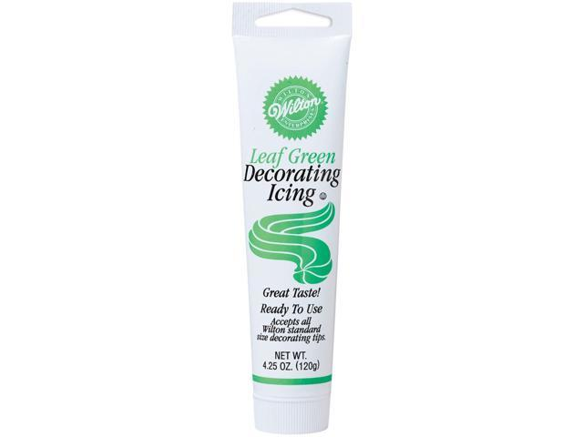 Decorating Icing 4.25 Ounces-Leaf Green