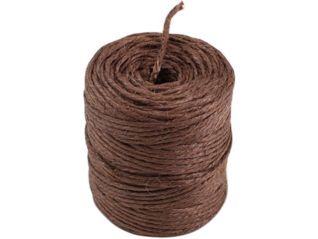 Jute Rope 3 Ply 75 Yards/Spool-Brown