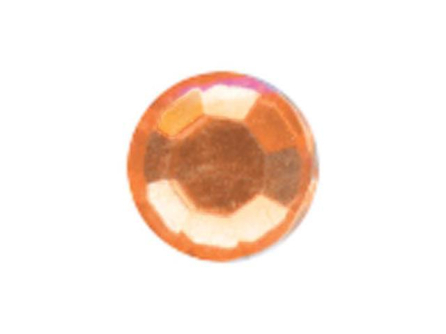 Crystal Stickers Elements 3mm To 6mm Assorted 76/Pkg-Round - Orange