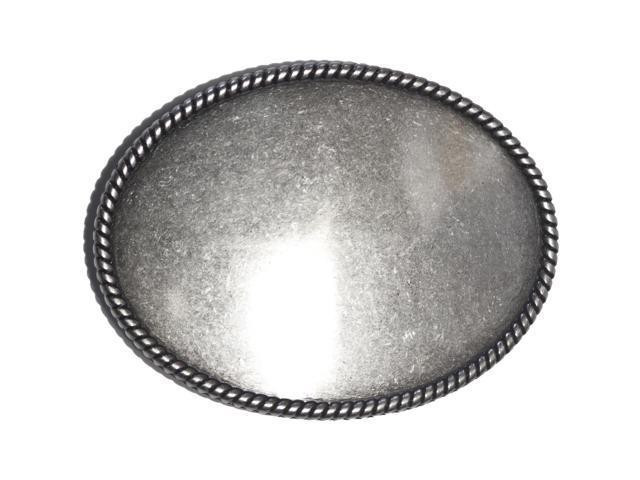 Oval Inlay Buckle 3.5