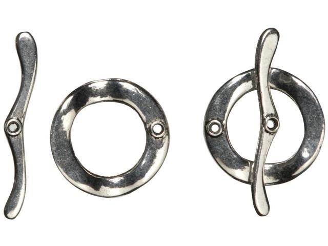 Jewelry Basics Large Toggles 2/Pkg-Silver