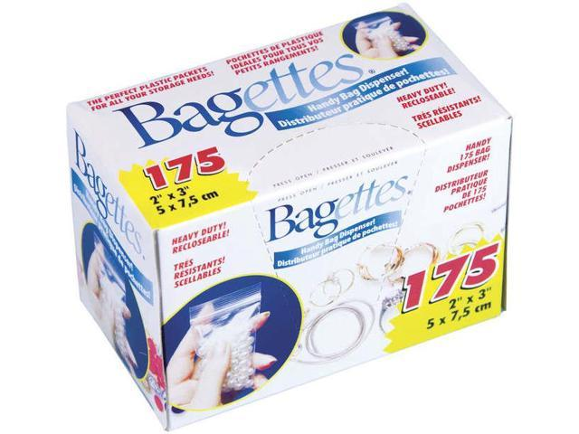 Bagettes Heavy Duty Reclosable Bags 175/Pkg-Clear 2