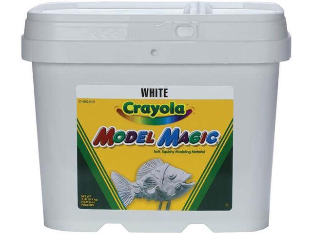 Model Magic Modeling Compound 8 oz each packet White 2 lbs.