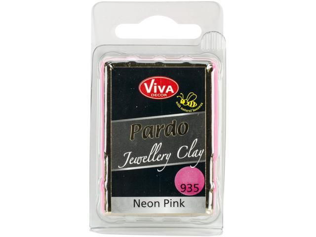 Pardo Jewelry Clay 56G-Neon Pink