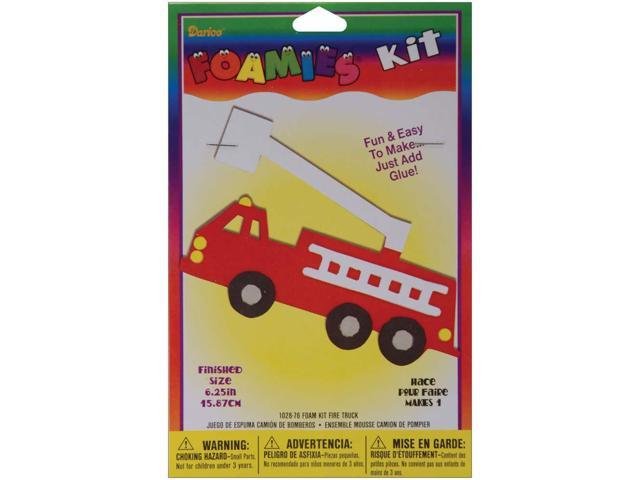 Foam Kit - Makes 1-Fire Truck 6.25