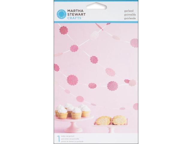 Vintage Girl Glittered Dot Garland Kit - Makes 1-Pink