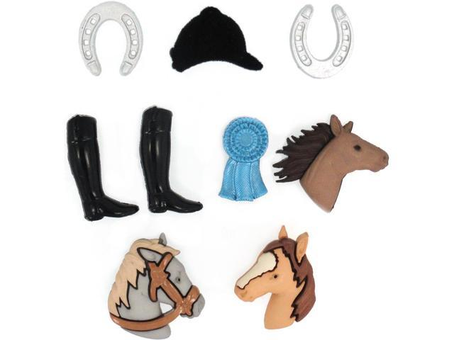 Dress It Up Embellishments-Triple Crown