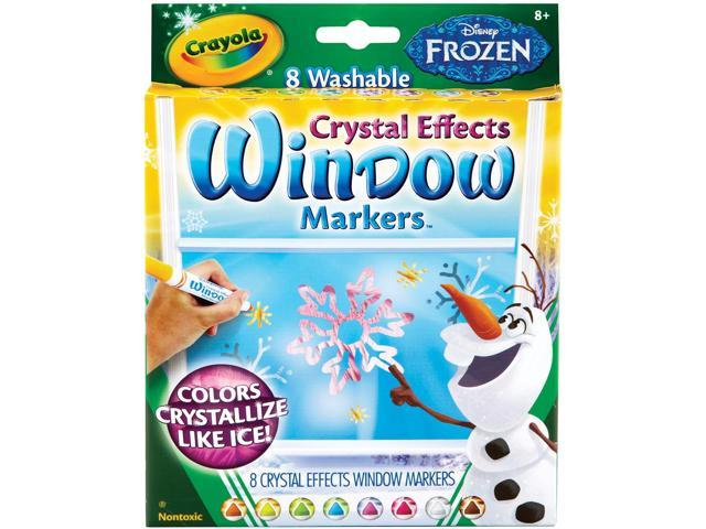 Crayola Disney Fx Bold Line Markers-Frozen Colors 8/Pkg