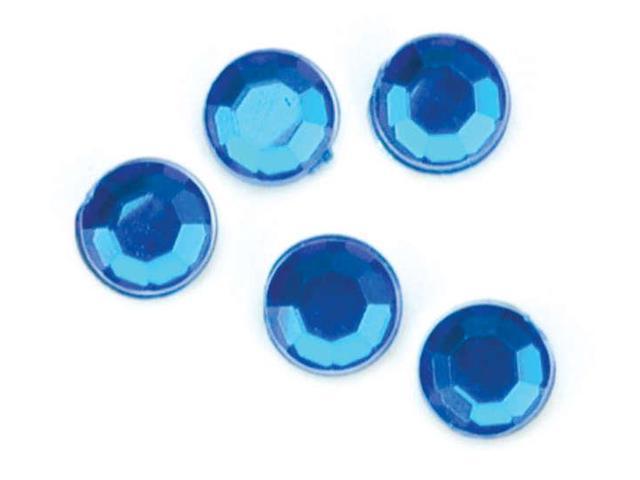 Rhinestones Round 5mm 35/Pkg-Dark Sapphire