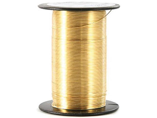 Craft Wire 28 Gauge 35yd-Gold