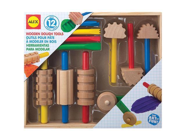 Wooden Dough Tools 11/Pkg-