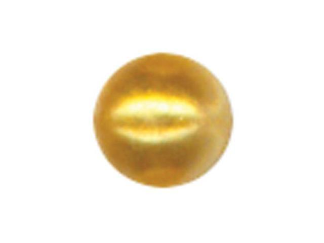 Crystal Stickers Pearls 3mm Round 125/Pkg-Gold
