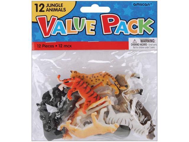 Party Favors 12/Pkg-Jungle Animals