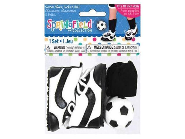 Springfield Collection Soccer Outfit Accessories-Shoes, Socks & Ball