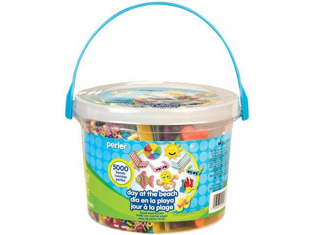 Perler Fused Bead Bucket Kit-Day At The Beach