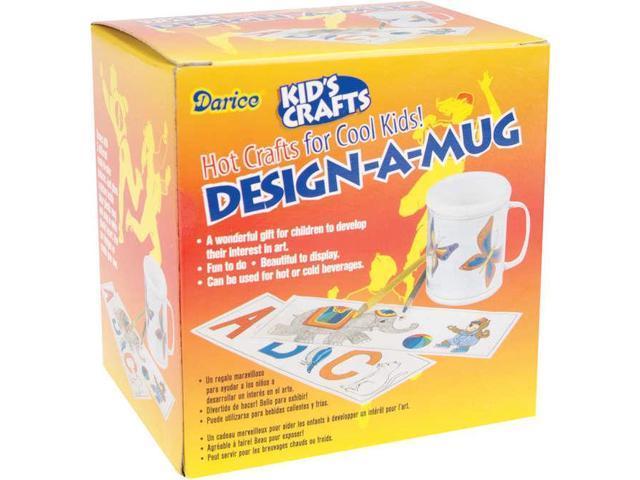 Design-A-Mug Kit-Clear Plastic