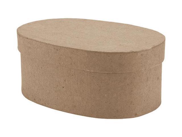 Paper-Mache Small Oval Box-5