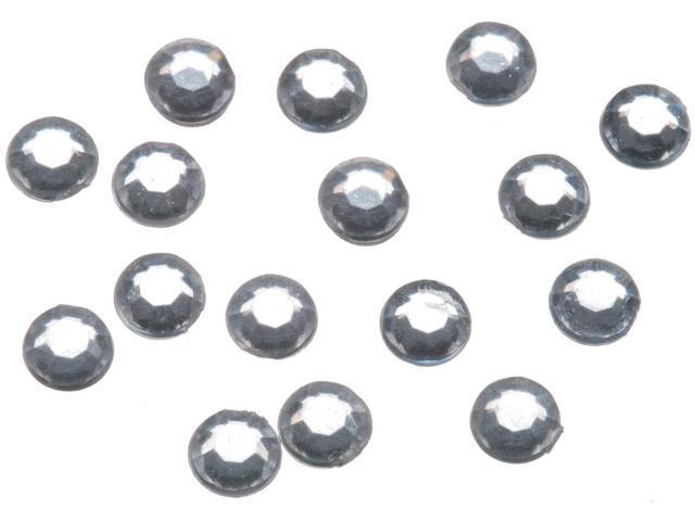 Sticky-Back Rhinestones 5mm 200/Pkg-Crystal