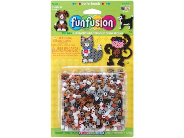 Perler Fuse Beads 2000/Pkg-Fun Fusion/Pet Mix