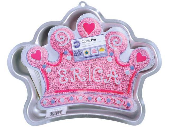 Novelty Cake Pans-Crown 14.25