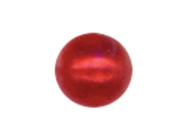 Crystal Stickers Pearls 3mm Round 125/Pkg-Red